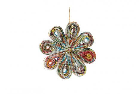 Recycled Paper Decoration – Flower