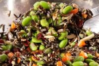 Rice and Edamame Salad