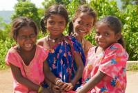 Children in Guntagannella Village