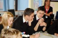 Children planning Fairtrade activity