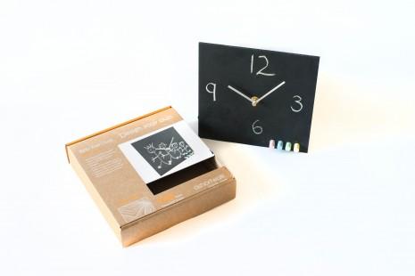 Chalk Board Wall Clock