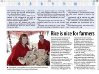 Feature in The Examiner September 2015