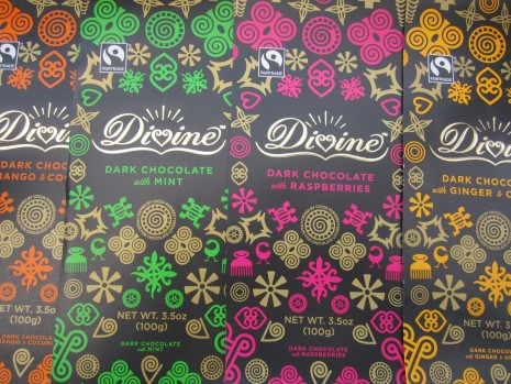 FREE Divine Chocolate Packaging