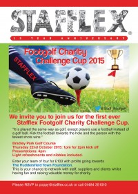 FootGolf flyer