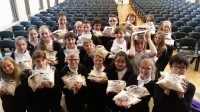 Following a week of rice challenge assemblies, students at Honley High School sold 90kg in one day, and have gone on to sell another 90kg!
