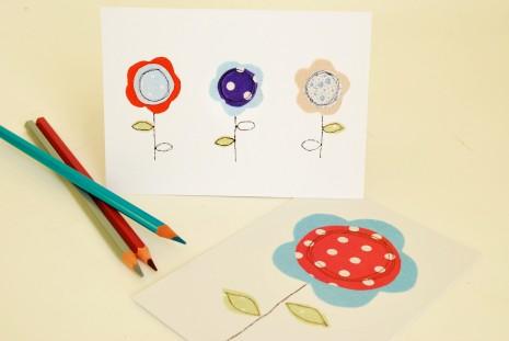 Tanya Palmer Postcard (set of 6) – Daisy Flowers