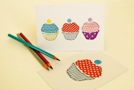 Tanya Palmer Postcard (set of 6) – Cupcakes