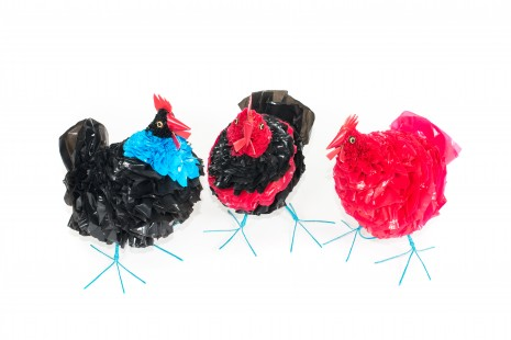 Recycled Plastic Chicken