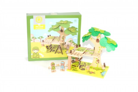 Tree House Wooden Toy