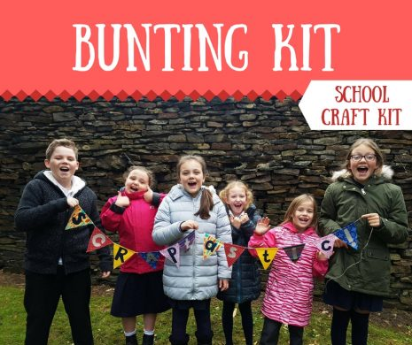 Bunting Craft Kit for Schools
