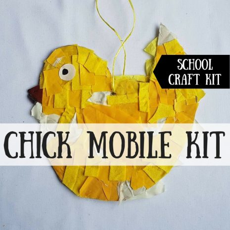 Chick Mobile Craft Kit for Schools