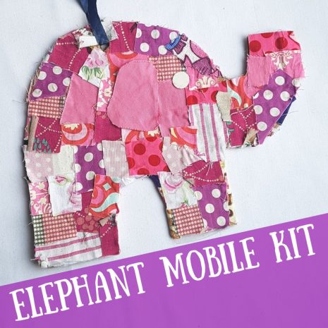 Elephant Mobile Craft Kit