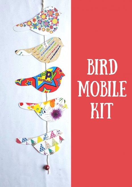 Bird Mobile Craft Kit