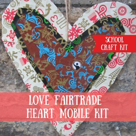 Love Fairtrade Mobile Craft Kit for Schools