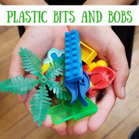 SCRAPtastic Plastic bits and pieces