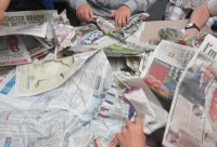 street paper workshop