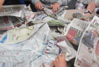 street paper workshop