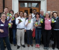 Yorkshire Fairtrade crisp campaigners!