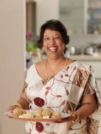 Kaushy in the kitchen!