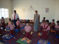 Swayam school children