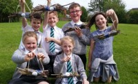 Gomersal St Marys Y4 and their bug hotels