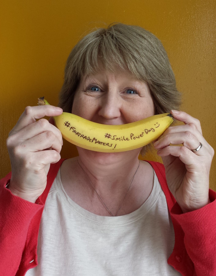 рожицы на бананах фото