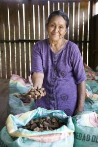 Ernestina Calco Mamyo during trip to Puerto Oro Community, Pando, Bolivia Photo: Eduardo Martino