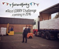fair and funky lorry