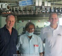 Mike and Andy of Koolskools have always worked with like-minded, ethical factories.