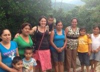 Nina with women's jewellery co-operative in Mexico.