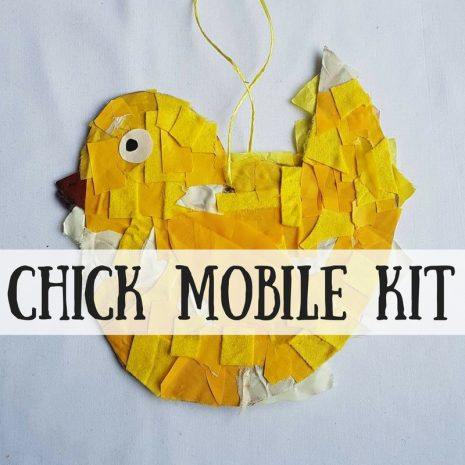 Chick Mobile Craft Kit