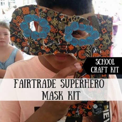 Fairtrade Superhero Mask Craft Kit