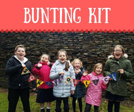 Bunting Craft Kit