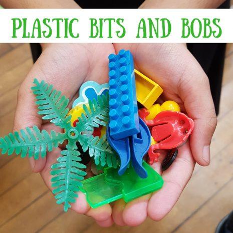 SCRAPtastic Plastic bits and pieces