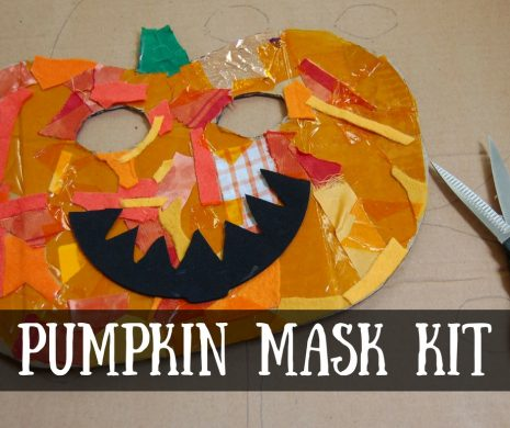 Pumpkin Mask Craft Kit