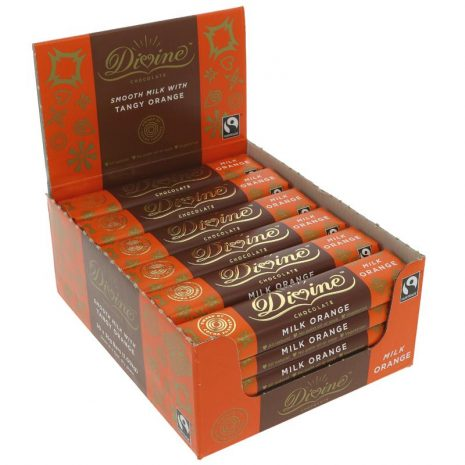 Divine Orange Milk Chocolate – small bar