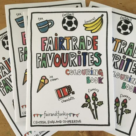 Fairtrade Favourites Colouring Book